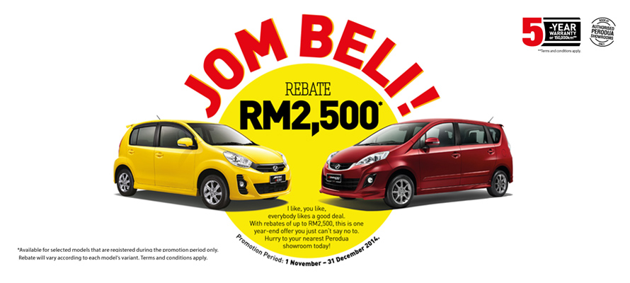 Perodua Promotion November 2014