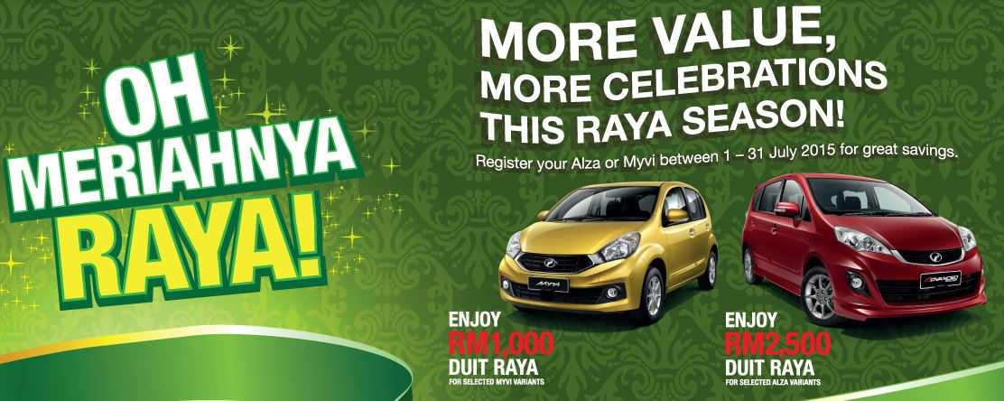 perodua promotion hari raya discount july 2015 my best car dealer rebate discount. Black Bedroom Furniture Sets. Home Design Ideas