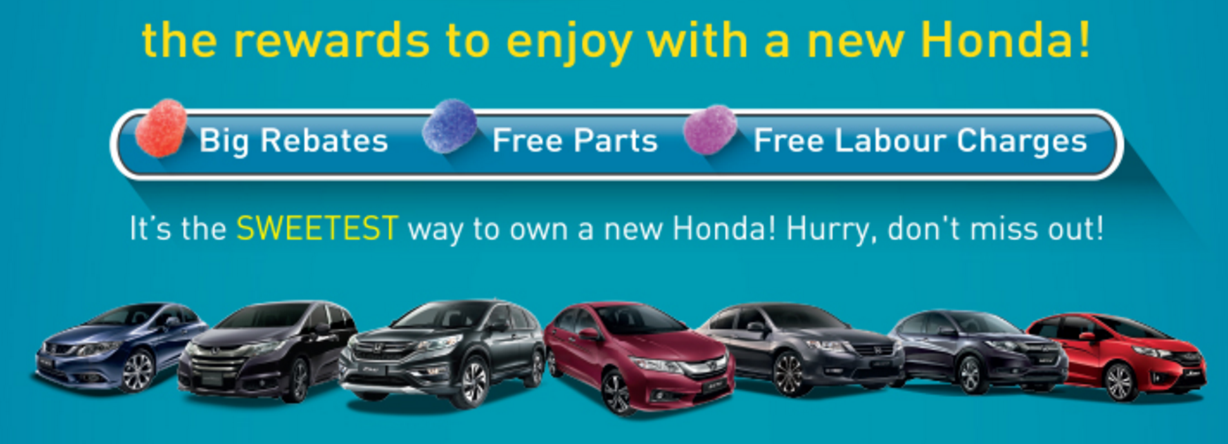 Honda Discount Promotion March 2016