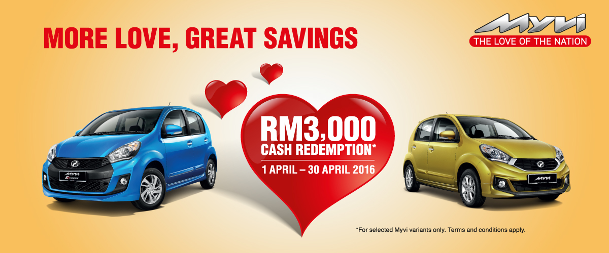 Perodua Promotion April 2016
