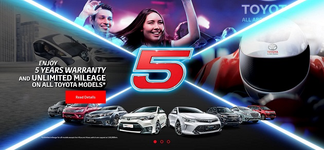 Toyota Promotion April 2016