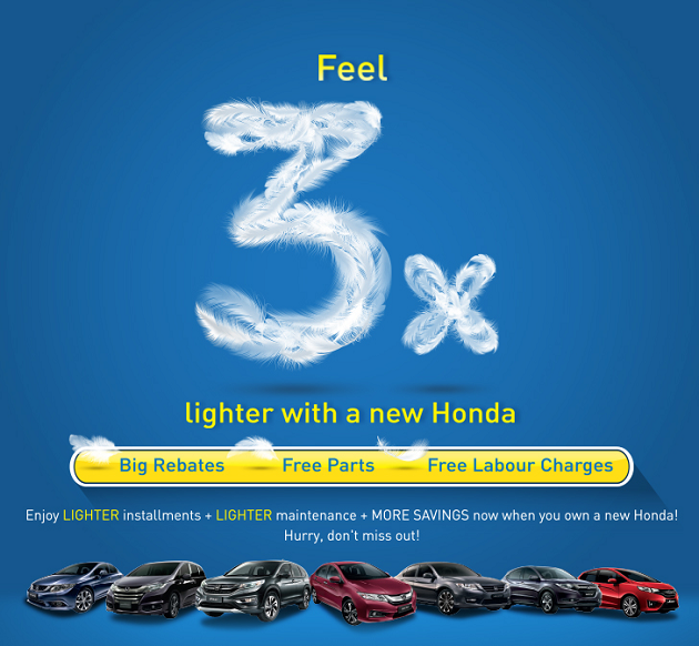 Honda Discount Promotion May 2016