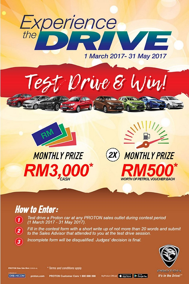 Proton Rebate Discount Promotion March 2017