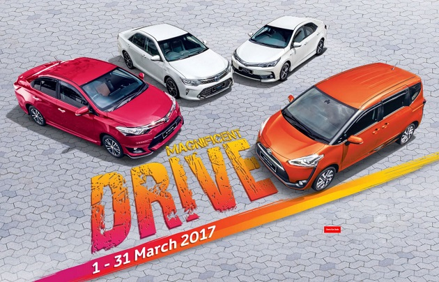 Toyota Discount Rebate Promotion March 2017