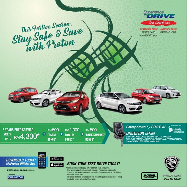 Proton Promotion Hari Raya Deals 187 My Best Car Dealer