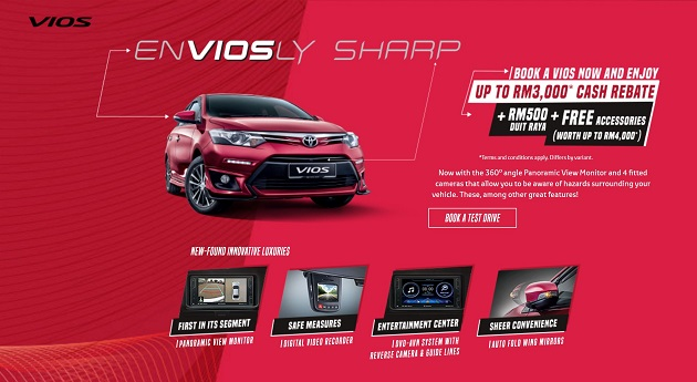 Toyota Vios Merdeka Promotion August September 2017
