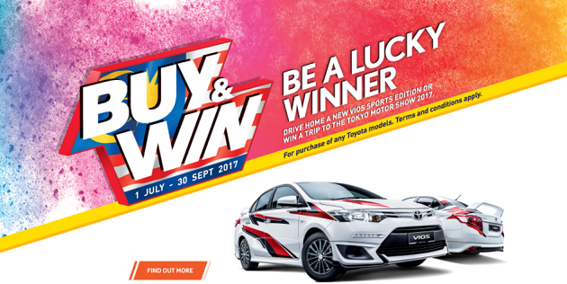 Toyota Promotion Discount September 2017