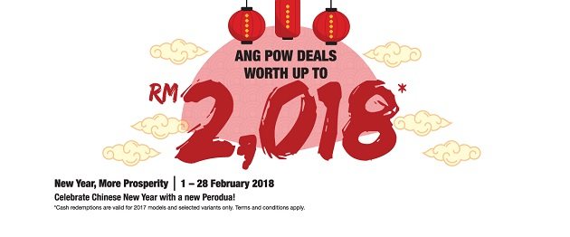 Perodua February Chinese New Year Promotion