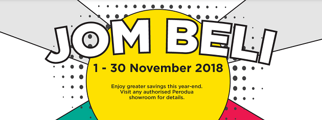 Perodua Promotion Discount November December 2018