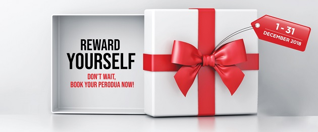 Perodua price discount promotion december 2018