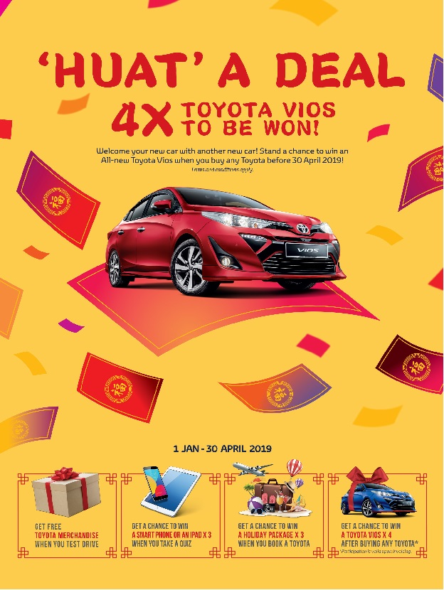 Toyota Discount Price Promotion February 2019