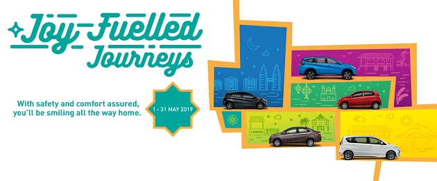 Perodua Hari Raya Promotion May June 2019