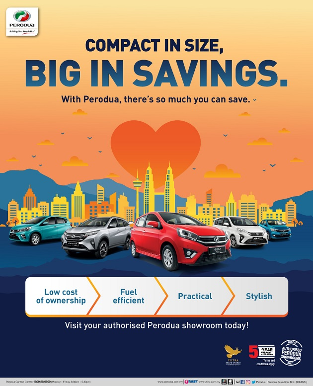 Perodua Discount Promotion July 2019