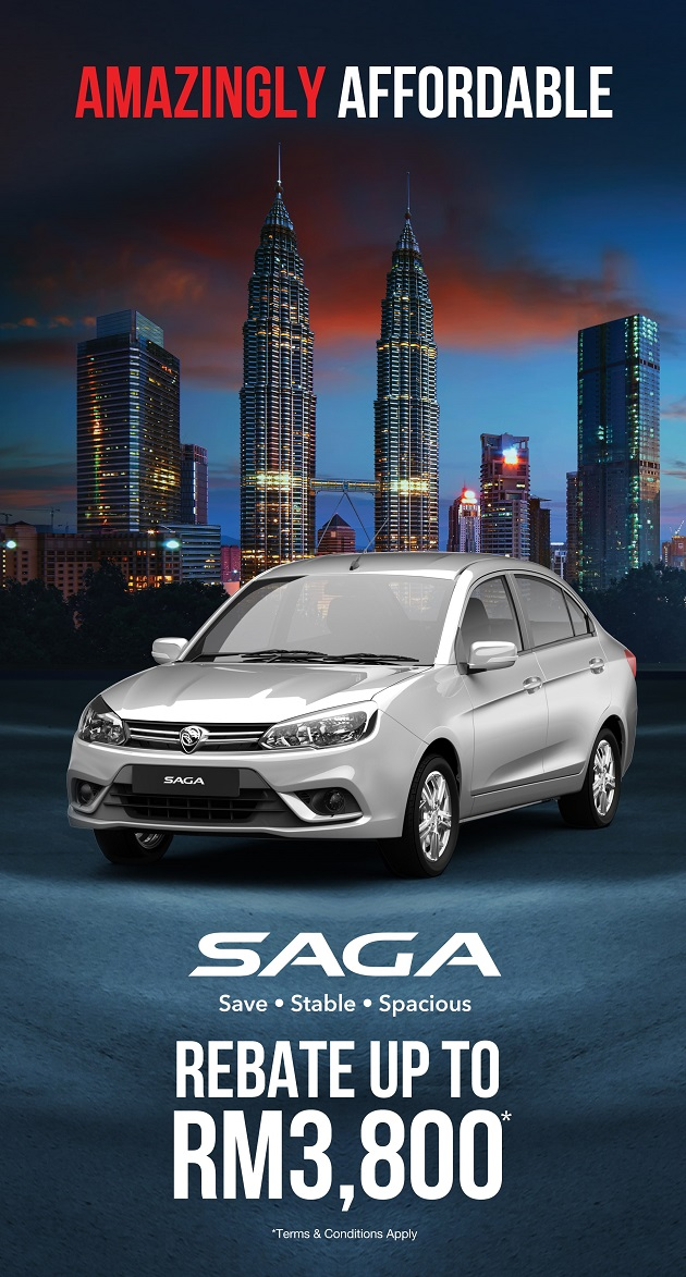 Proton Discount Promotion July 2019